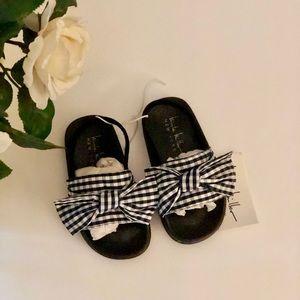Nicole Miller NY Little Girl's Bow Sandals